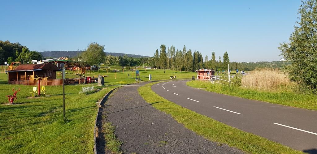 Inline, cyklo a bežecká dráha - Matylda Most