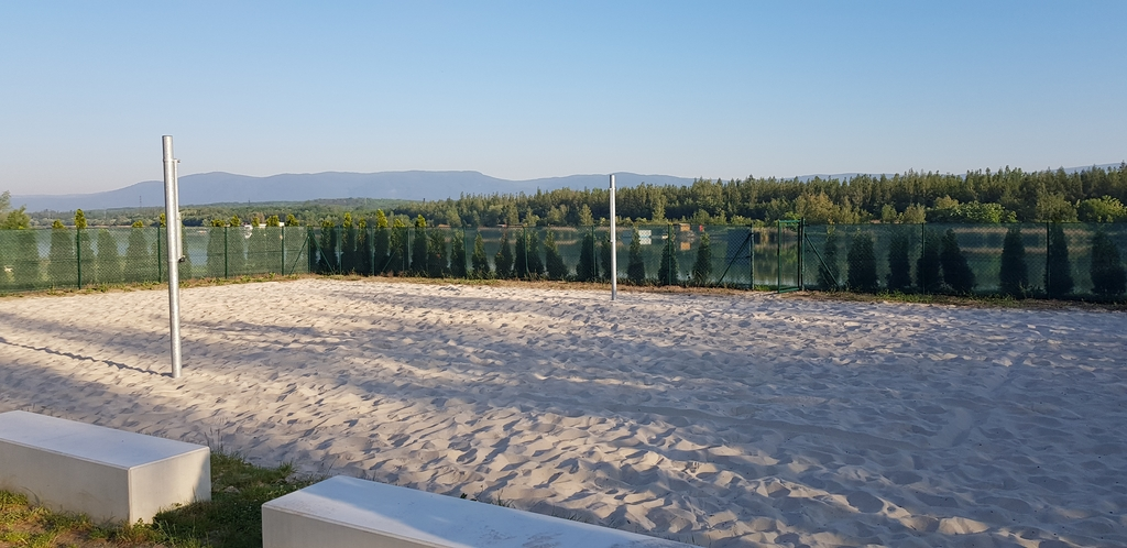 Beach volejbalové hřiště - Matylda Most